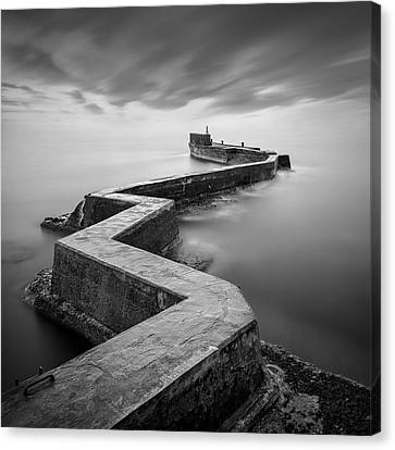 St Monans Breakwater Canvas Print