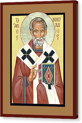 St. Nicholas Canvas Print by Lynne Beard