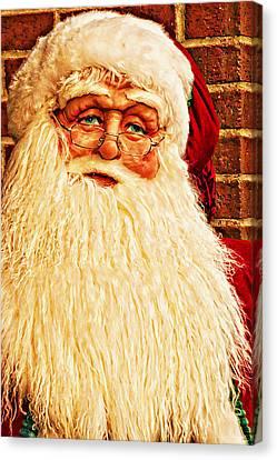 St. Nicholas Melting Canvas Photoart Canvas Print