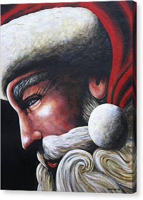 St. Nick Canvas Print by Doug Norton