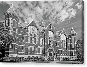 St. Norbert College Main Hall Canvas Print by University Icons
