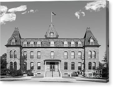 Old Main Canvas Print - St. Olaf College Old Main by University Icons