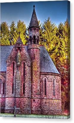 St Palladius Church Drumtochty Canvas Print by Gabor Pozsgai