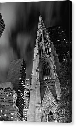 St Patricks Cathedral Canvas Print by Keith Kapple