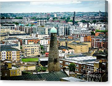 St Patricks Tower From Guinness Brewery In Dublin Canvas Print