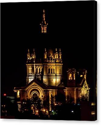 St Paul Cathederal Canvas Print by Nick Peters