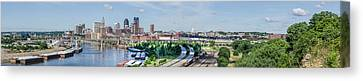 Canvas Print featuring the photograph St. Paul by Dan Traun