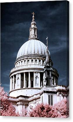 St. Paul's Cathedral's Dome, London Canvas Print