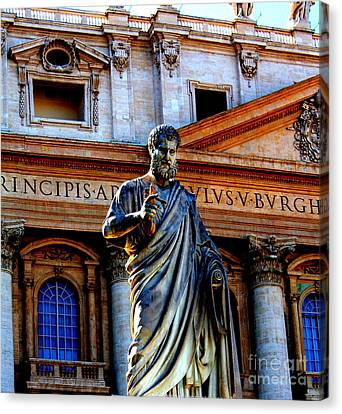 St Peter At The Vatican Canvas Print