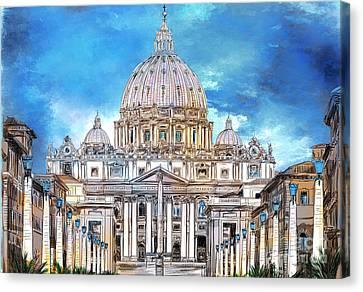 St. Peter's Basilica Canvas Print