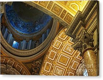 St Peter's Basilica Canvas Print by HD Connelly