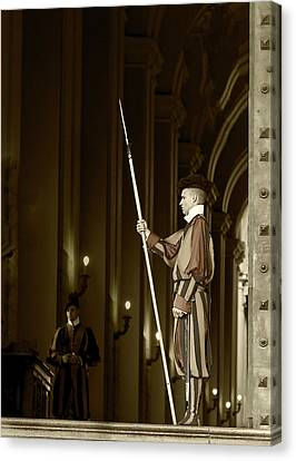 Canvas Print featuring the photograph St Peters Square by John Hix