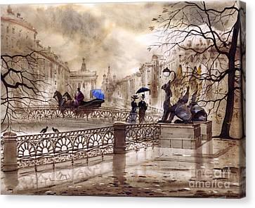 St Petersburg Canvas Print - St. Petersburg II by Svetlana and Sabir Gadghievs
