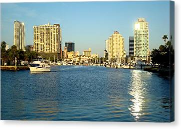 St Petersburg Florida Canvas Print