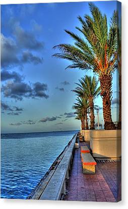 St. Petersburg Pier Tampa Bay Canvas Print