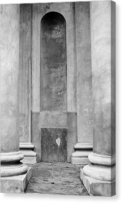 St. Philips Church Pillars II Canvas Print
