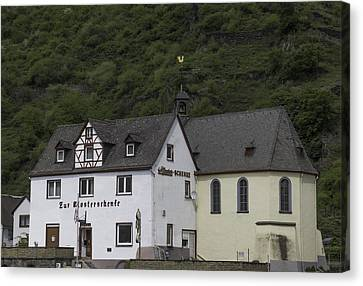 St Sebastian Church Ehrenthal Germany Canvas Print by Teresa Mucha