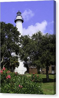 St Simons Isle Lighthouse Canvas Print