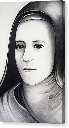 St. Therese Of Lisieux Canvas Print