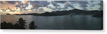 St. Thomas At Dusk Canvas Print by Gary Lobdell