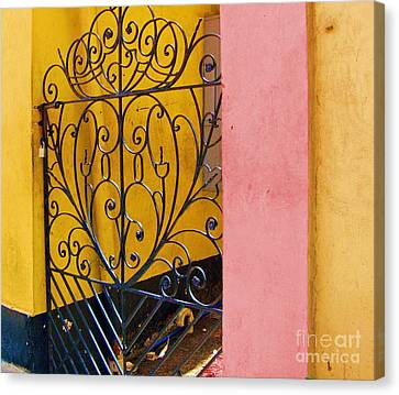 St. Thomas Gate Canvas Print by Debbi Granruth