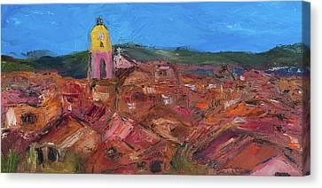 St. Tropez Canvas Print by Dan Castle