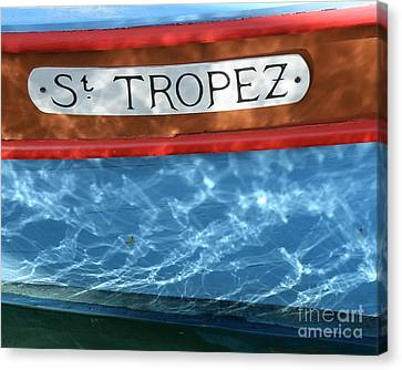 St. Tropez Canvas Print by Lainie Wrightson