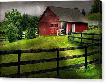 Stable Gate Canvas Print by Diana Angstadt