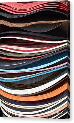 Stacked Sombreros Canvas Print