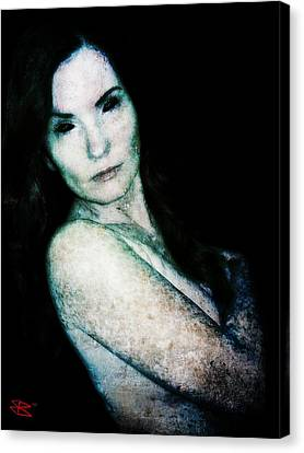 Stacy 2 Canvas Print by Mark Baranowski