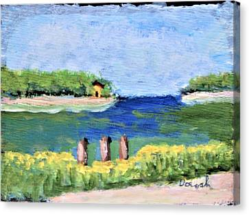 Stafford Creek Canvas Print