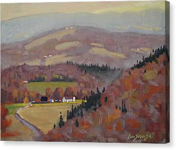 Stafford Hill From The Glen 2 Canvas Print