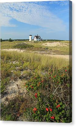 Stage Harbor Lighthouse Cape Cod Canvas Print