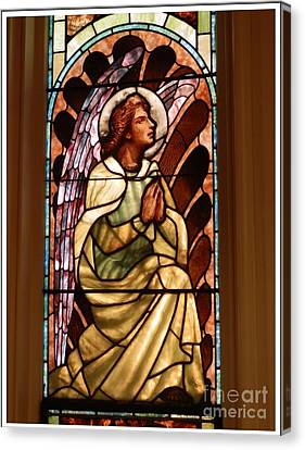 Stain Glass #1 Canvas Print by Marcia Lee Jones