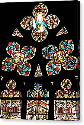 Lute Canvas Print - Stained Glass Glory by Sarah Loft