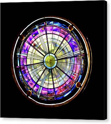 Canvas Print featuring the photograph Stained Glass by John Hix