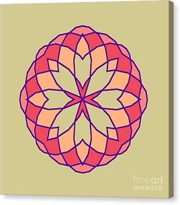 Stained Glass Canvas Print by Methune Hively