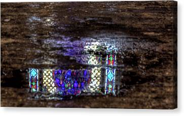 Stained Glass Reflections Canvas Print