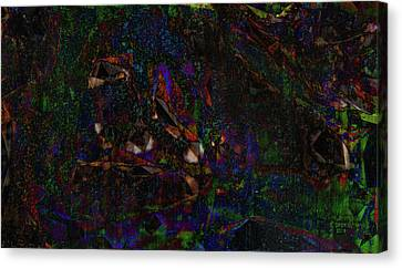 Stained Jungle Canvas Print
