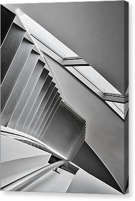 Stair Canvas Print - Staircase by Henk Van Maastricht