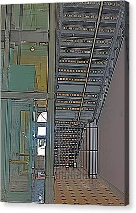 Staircase Canvas Print by Alison Mae Photography