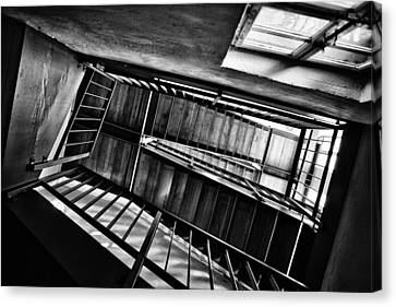 Staircase Canvas Print by Nailia Schwarz