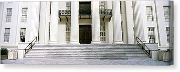 Staircase Of A Government Building Canvas Print