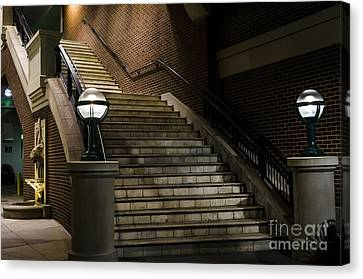 Staircase On The Blvd. Canvas Print