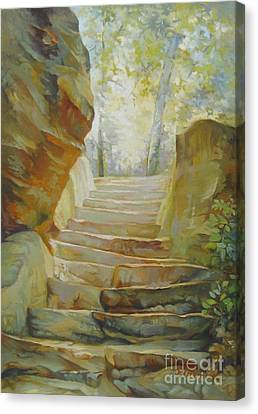 Stairs Canvas Print by Elena Oleniuc