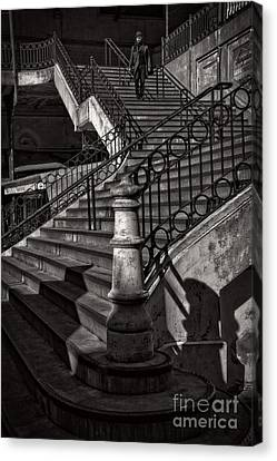 Stairs In The Markethall  Canvas Print
