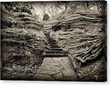 Stairs Canvas Print by Sandy Keeton
