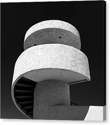 Stairs To Nowhere Canvas Print by Dave Bowman