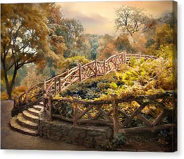 Canvas Print featuring the photograph Stairway To Heaven by Jessica Jenney