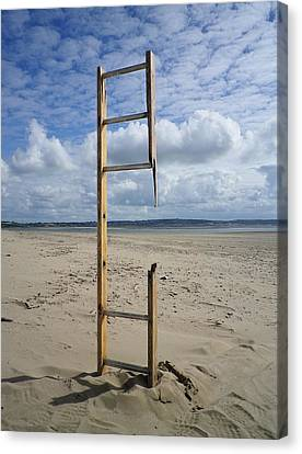 Stairway To Heaven Canvas Print by Richard Brookes